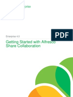 Getting Started With Alfresco Share Collaboration for Enterprise