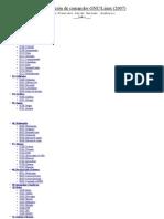 Recopilación de comandos GNU/Linux - Francisco Hurtado - 2007