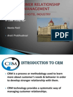 CRM in Hotel Sector