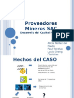 Prove Ed Ores Mineros SAC