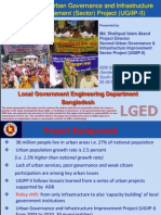 Bangladesh Second Urban Governance and Infrastructure Improvement (Sector) Project UGIIP-II