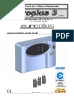 Manuale EUROPLUS3