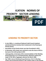 Priority Sector Credit