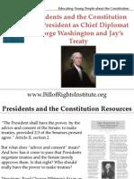 PC I Chief Diplomat-Washington and Jay's Treaty-Student Program