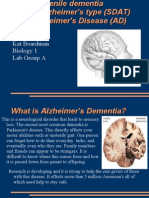 Biology Presentation Alzheimer's