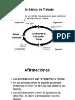 ciclo satisfaccion de clientes y distinciones básicas