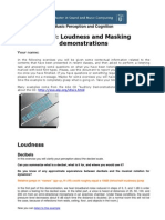 Loudness Masking