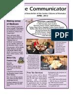 Communicator Senior Newsletter - April 2012