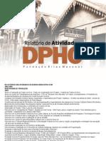 Relatório de atividades do Patrimônio Histórico do Acre (2004-2005)