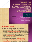 1-Compare the Characteristic of Islamic Accounting Versus Conventional - Copy
