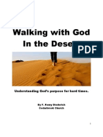 Walking with God in the Desert