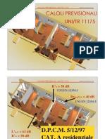 Calcoli UNI TR 11175