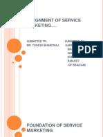 Foundation of Service Marketing
