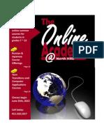 2012 Online Academy Summer School Program