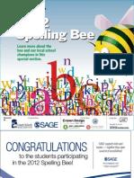 '12 Spelling Bee