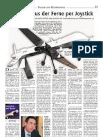 Landeszeitung Lüneburg 11-11-2011 Drohnen