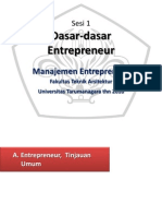 Sesi 1 Tinjauan Umum Entrepreneur