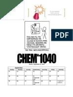 Session 1 (F11 CHEM 1040)