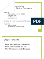 Chapter 1- Introduction to Macroeconomics