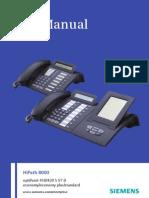 User Manual OptiPoint 410-420 Economy S, Economy Plus S, Standard S