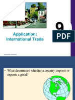 Applications Intl Trade