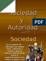 Sociedad y Autoridad