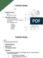 SEMIOTICA Funcao+Renal