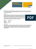 Using SQL Server Database Compression With SAP NetWeaver