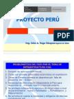 Ing_ John Vega - Experiencia Peruana, Programa de Infraestructura Vial Proyecto Perú