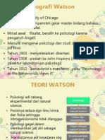Teori Kepribadian Jb Watson