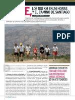 El Pie, Los 100 Km en 24 Horas y El Camino de Santiago