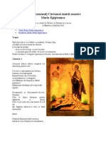 Canonul Sf Maria Egipteanca