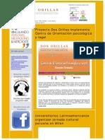 Boletín Electrónico Proyecto Dos Orillas Febrero 2012