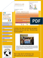 Boletín Electrónico Proyecto Dos Orillas Marzo 2012
