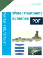 Water treatment schemes