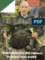 Telesforo Monzon - Punto y Hora de EH nº 217. 19810313