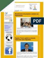 Boletín Electrónico Proyecto Dos Orillas Noviembre 2011