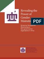 Revealing Power of Gender Mainstreaming