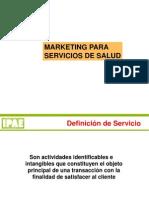 Marketing Para Servicios de Salud IPAE