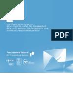 Manifiesto Derechos Niñas y Mujeres con discapacidad Unión Europea