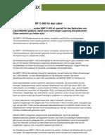 Etikettendrucker BBP11-300 für das Labor