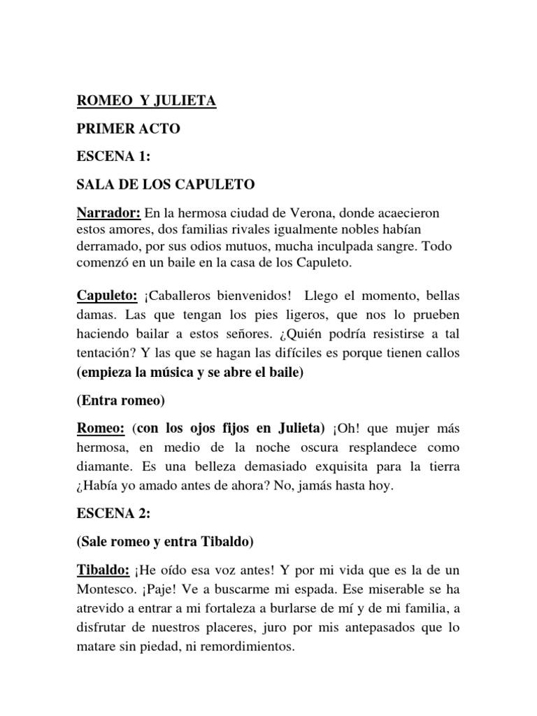 Romeo y Julieta (Libreto Reducido)