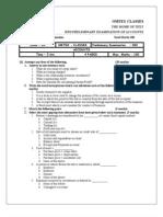 Accounts Preliminary Paper 2 IIND Preliminary