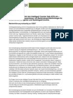 Comesterogroup führt den Intelligent Counter Safe (ICS) ein