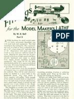 Lathe Modelling 2