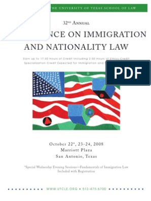 UT Immigration CLE | H 1 B Visa | Employment