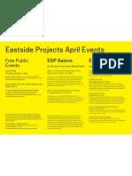 April Events 2012