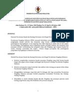 Tatacara Pengurniaan & Anugerah Pingat PPM