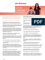 Evaluations as a Form of Continuous Learning