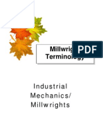 Industrial Millwrights Terminology